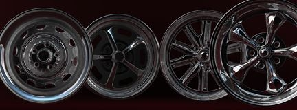 Car rims Stock Image