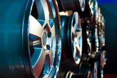 Car rims Stock Photography