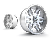 Car rims concept Royalty Free Stock Photos