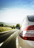Car on road Stock Photography