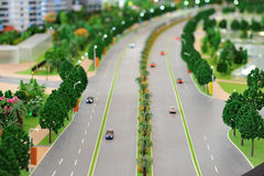 Car road Royalty Free Stock Photography
