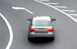 Car on road Royalty Free Stock Image
