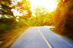 Car on the road Stock Photos