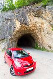 Car and road tunnel Stock Photos