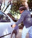 Car Robbery Royalty Free Stock Photos