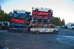 Car rocks. Royalty Free Stock Image
