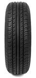 Car rubber tire Stock Image