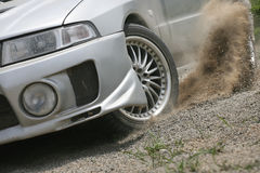 Car running Royalty Free Stock Images