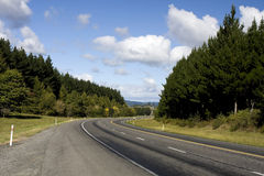 Car on Rural Highway Stock Image