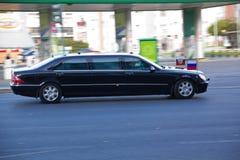 Car of Russian President Dmitry Medvedev Stock Image