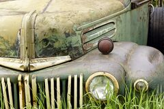 Car, Rust, Antique, Vehicle, Old Stock Image