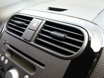 Car's air conditioner Stock Photo