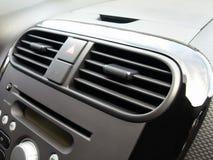 Car's air conditioner Stock Photo