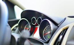 Car's cockpit Stock Image