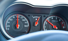 Car's dashboard Royalty Free Stock Image