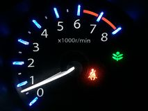 Car`s dashboard Stock Images