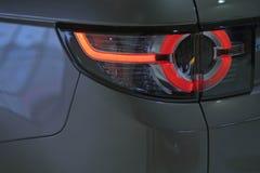 Car's exterior details.Element of design. Stock Photos