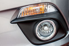 Car's fog lamp Stock Photos