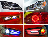 Car's headlight Royalty Free Stock Photo