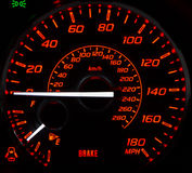 Car's instrument panel Royalty Free Stock Photos