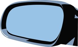 Car's mirror Royalty Free Stock Photography