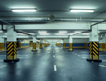 Car`s parking. Underground garage. Car`s parking royalty free stock images