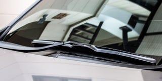 Car's rain wiper 1 Stock Photo