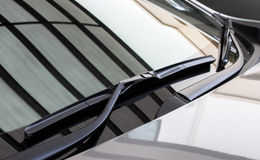 Car's rain wiper 2 Stock Images