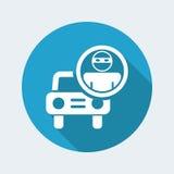 Car`s thief icon Royalty Free Stock Image