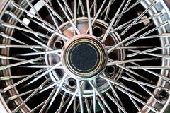Car's Wheel close up Royalty Free Stock Images