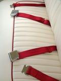 Car safety belt.  stock photo
