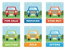Car for sale Stock Photos