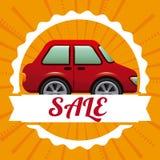 Car Sale  design Stock Images