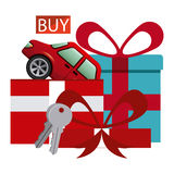 Car Sale  design Royalty Free Stock Images