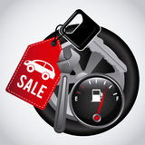 Car Sale  design Stock Image