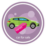 Car sale design template Royalty Free Stock Photography