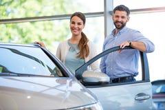 Car sale Stock Photography