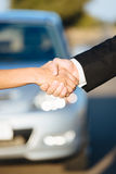 Car sale or rental concept Royalty Free Stock Photos
