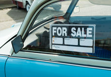 Car for sale Royalty Free Stock Images