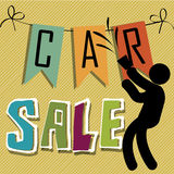 Car sale Stock Image