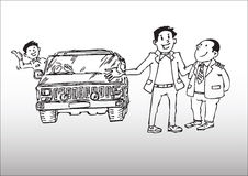 Car sales Stock Photo