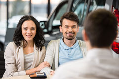 Car sales Stock Images