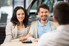 Car sales Royalty Free Stock Photography