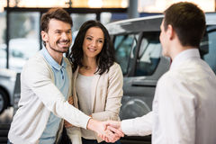 Car sales Royalty Free Stock Photos