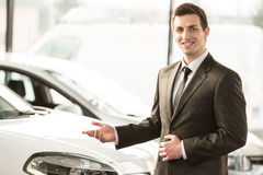 Car sales Stock Photos