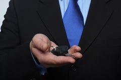 Car salesman Royalty Free Stock Images