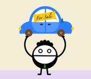 Car salesman Royalty Free Stock Photography