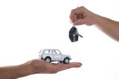 Car salesman Stock Photo