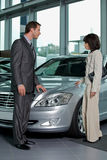 Car salesperson Stock Photography