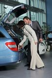 Car salesperson Royalty Free Stock Photo